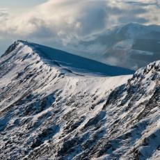 Blencathra, Gategill ridge