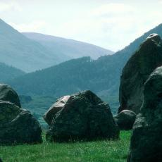 Castlerigg Stone Circle Close Up