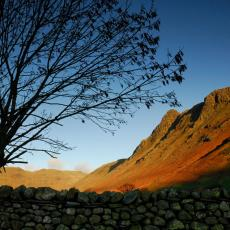Langdale Pikes glimpse