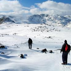 Stickle Pike in the Winter