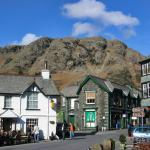 Coniston Old Man and village