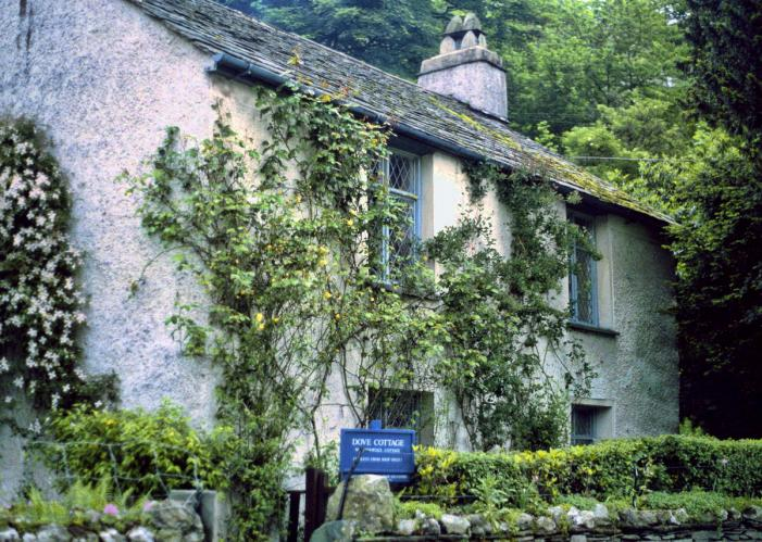 Dove Cottage, home of William Wordsworth