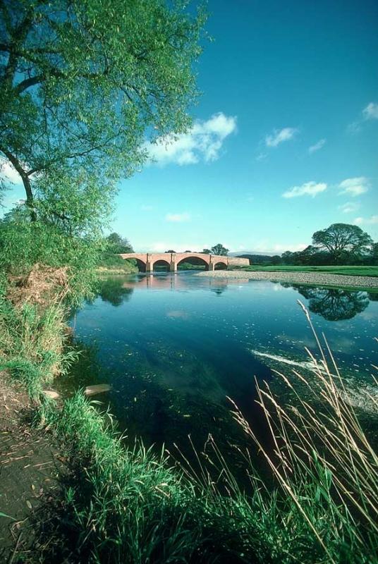 River Eden Bridge at Lazonby