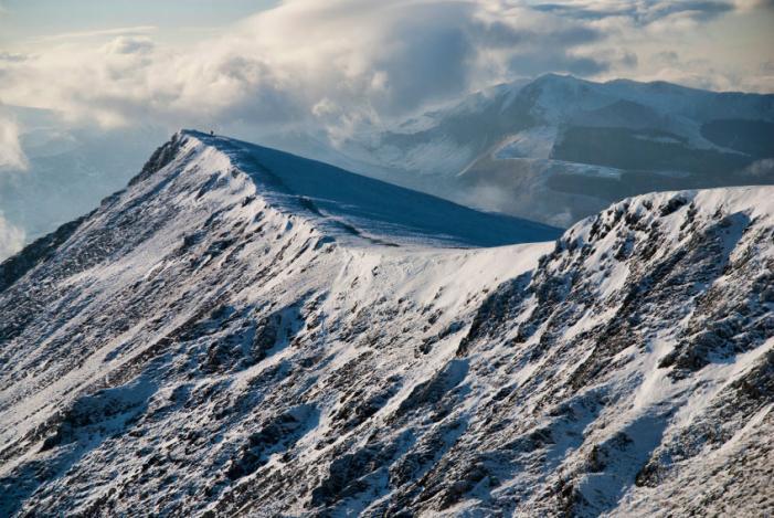 Blencathra, Gategill ridge