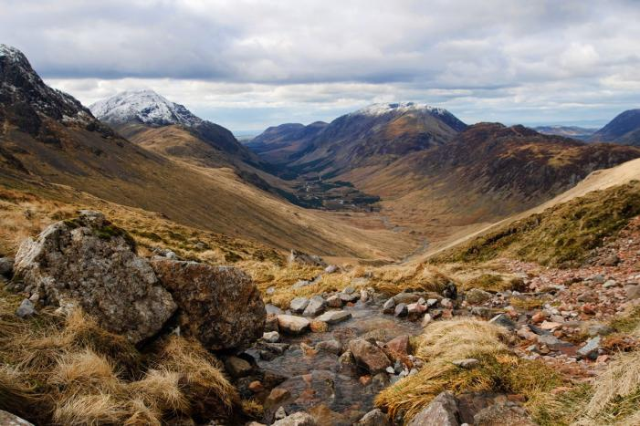 Ennerdale Valley and Great Gable