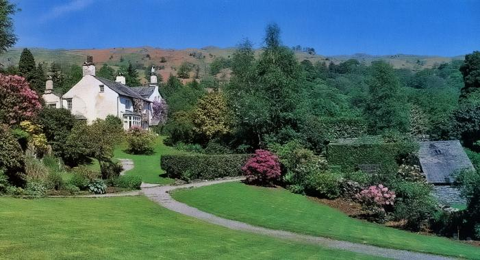Rydal Mount gardens
