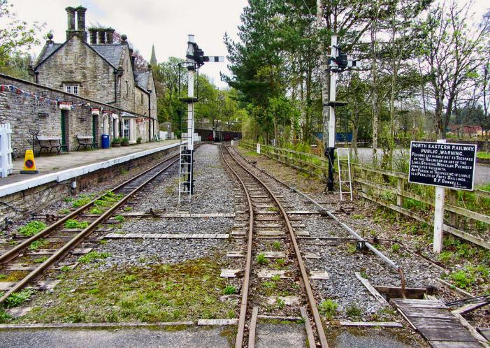 South Tynedale Railway, Alston Station